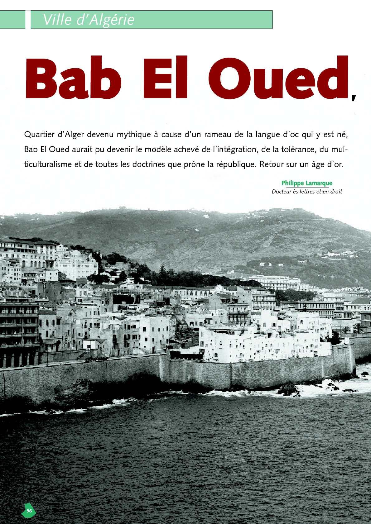 Ne A Bab El Oued : Calaméo, Philippe, Lamarque: