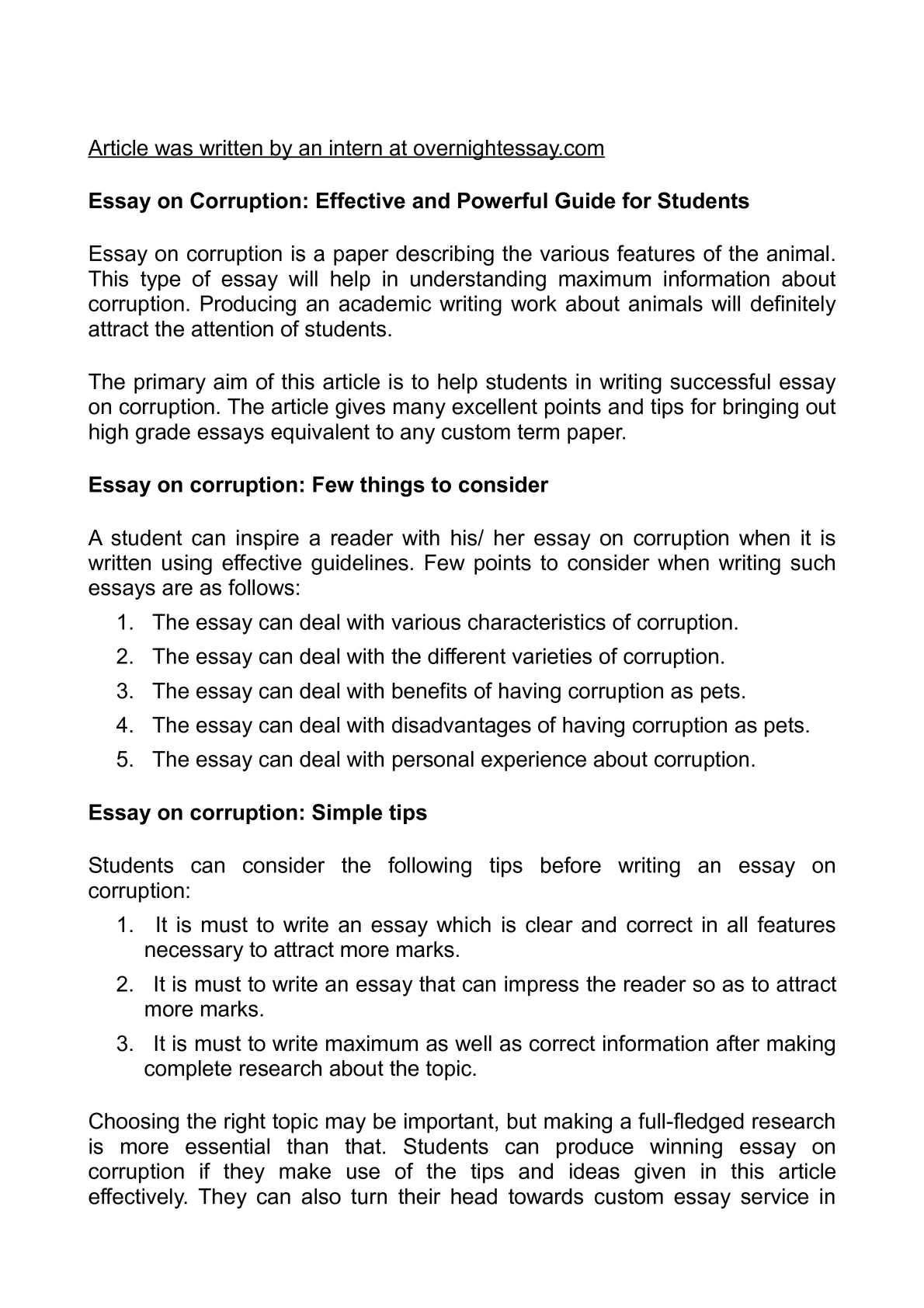 Police Corruption Essays Colorado Essay Contest Essays Database