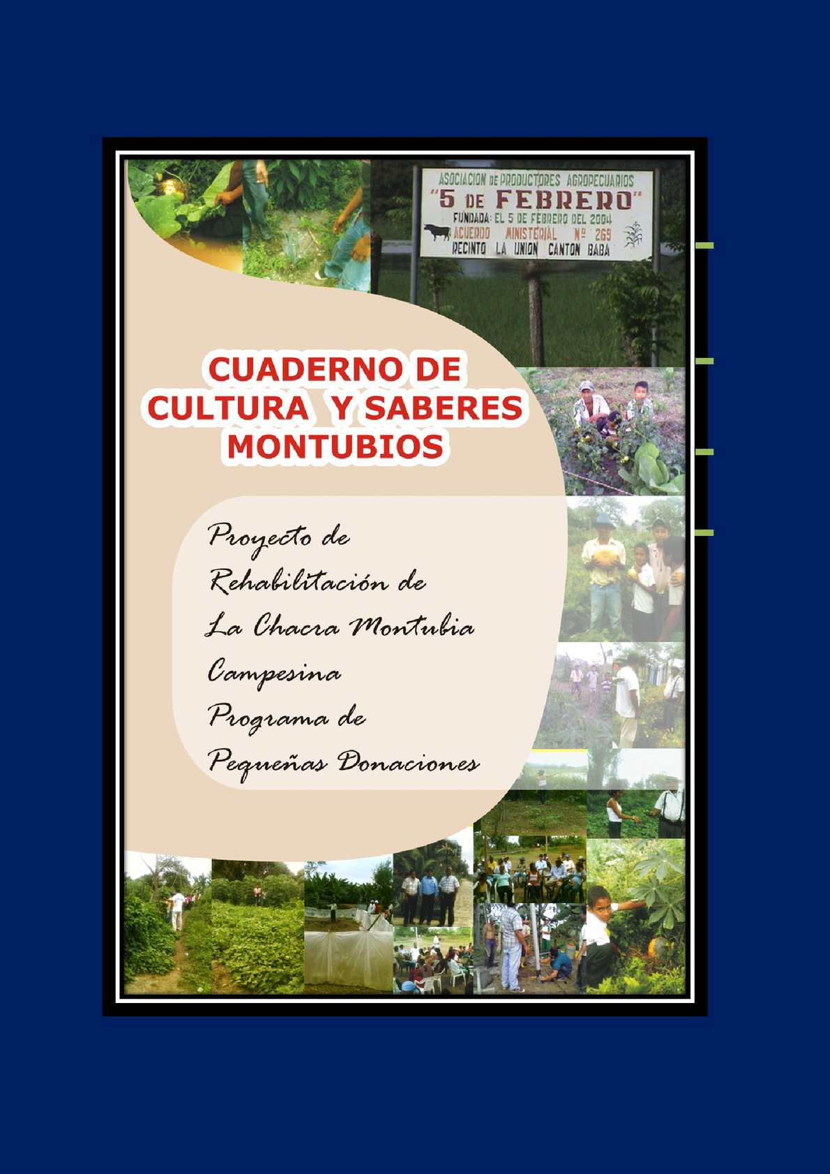 Calamo  CUADERNO DE CULTURA Y SABERES MONTUBIOS
