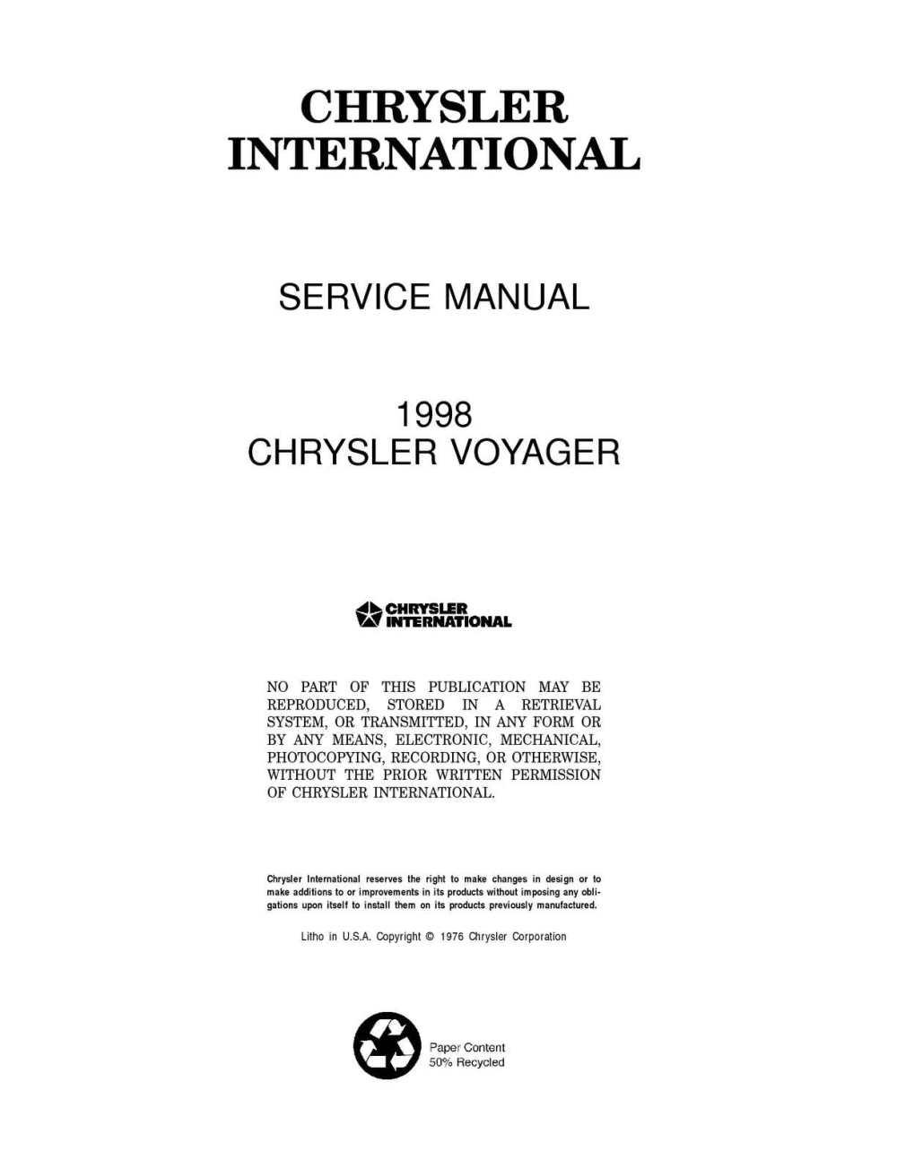 medium resolution of chrysler service manual