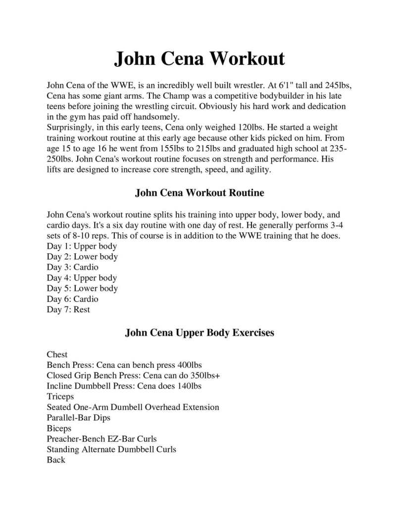 One Day Upper Body Workout Routine Yourviewsite Co