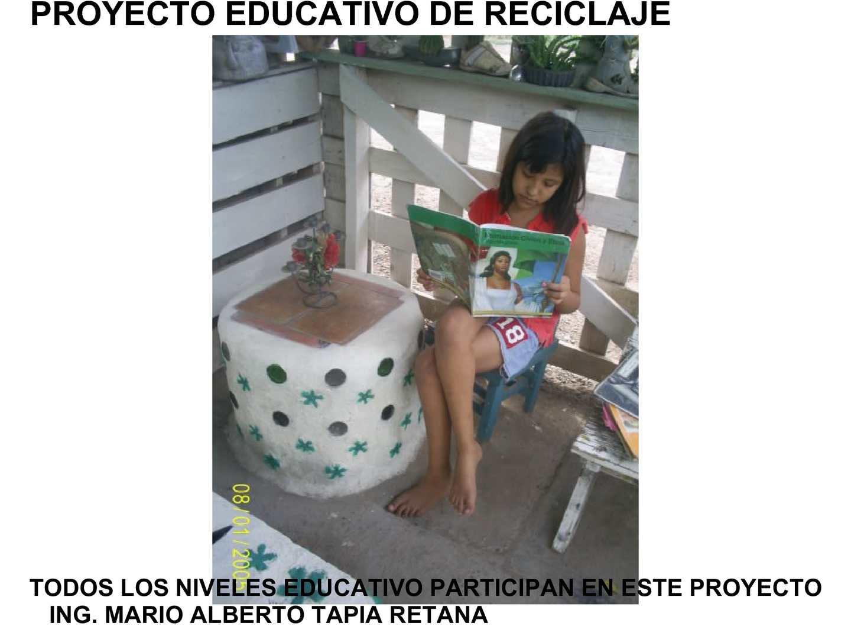 Calamo  proyecto educativo de reciclaje