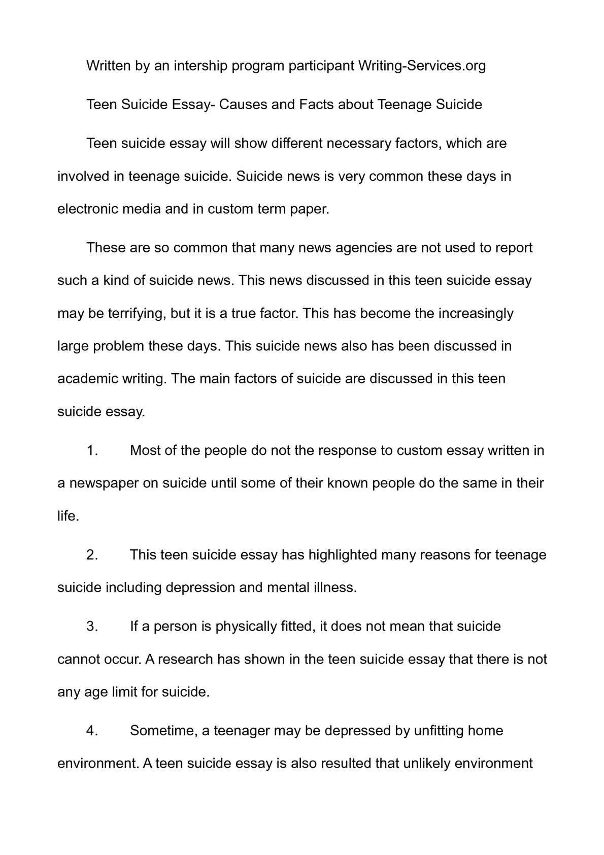 Assisted Suicide Persuasive Essay Teenage Suicide Essay Persuasive