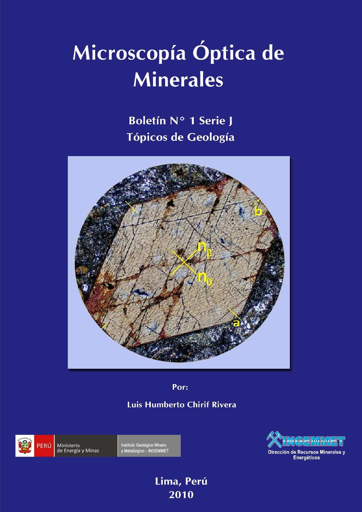 Calamo  MICROSCOPA OPTICA DE MINERALES 2010