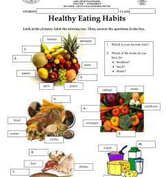 Calaméo - Worksheet Healthy Eating Habits [ 1584 x 1224 Pixel ]