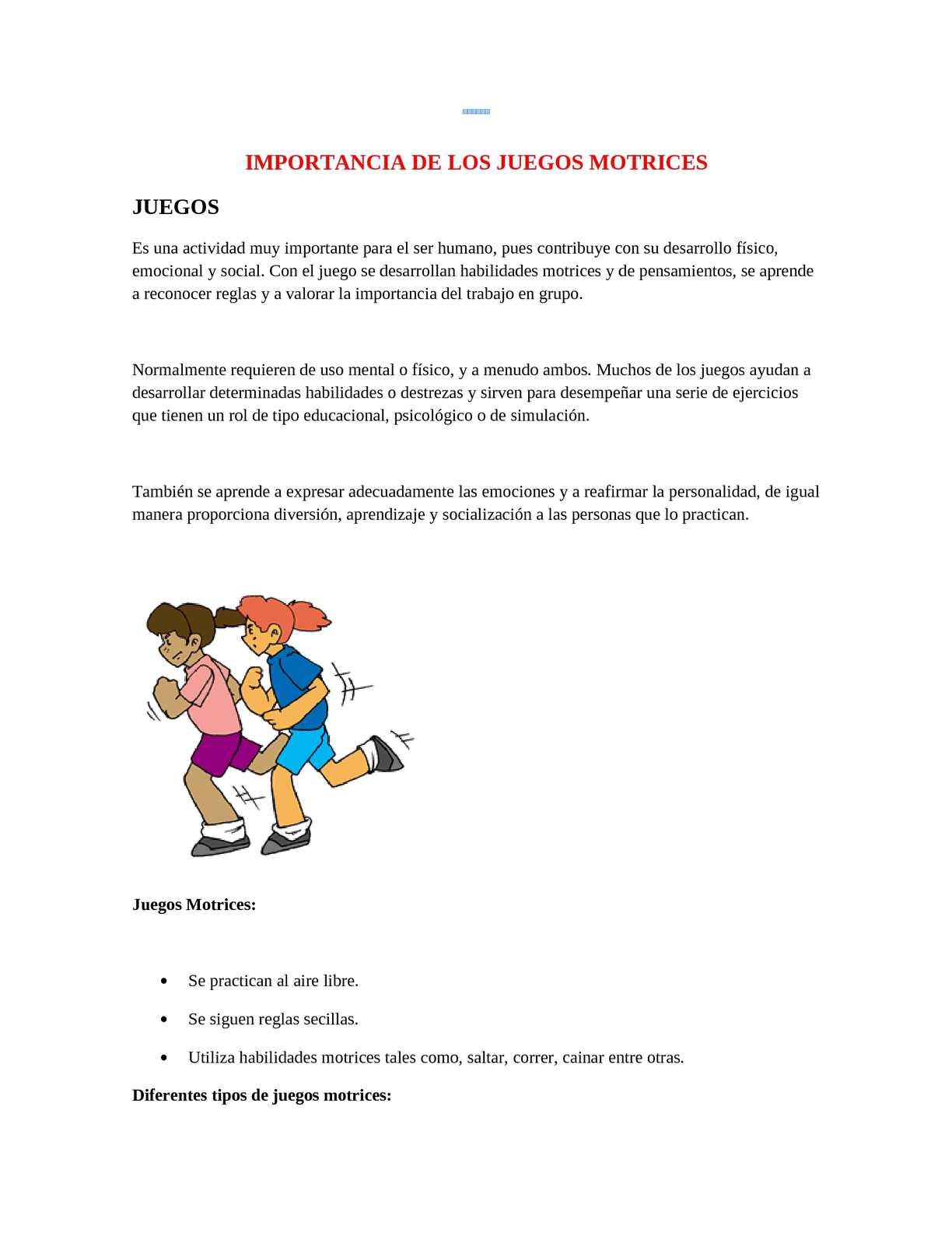 Desarrollo Emocional Actividades Para Ninos Preescolares