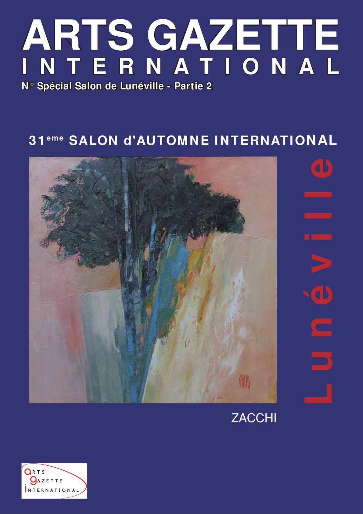 Calamo  Arts Gazette International  N Spcial Salon Lunville 2012  2eme Partie