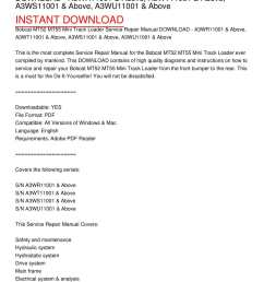 calam o bobcat mt52 mt55 mini track loader service repair manual download a3wr11001 above a3wt11001 above a3ws11001 above a3wu11001 above [ 1224 x 1584 Pixel ]