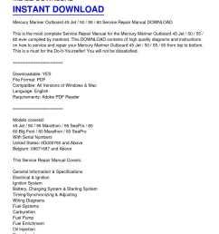 calam o mercury mariner outboard 45 jet 50 55 60 service repair manual [ 1224 x 1584 Pixel ]