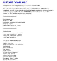 1996 1998 honda cbr900rr service repair manual download [ 1224 x 1584 Pixel ]