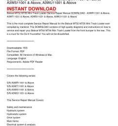 calam o bobcat mt52 mt55 mini track loader service repair manualbobcat mt52 mt55 mini track [ 1224 x 1584 Pixel ]