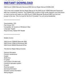 calam o 2005 suzuki vz800 marauder boulevard m50 service repair manual download [ 1224 x 1584 Pixel ]