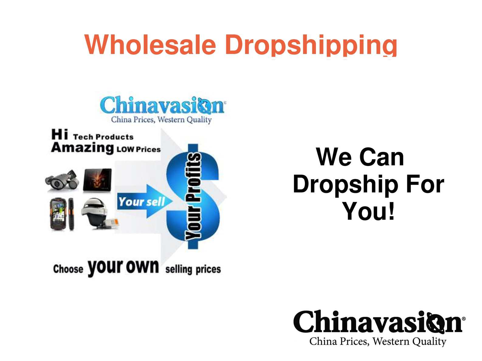 Chinese Wholesale Dropshippers