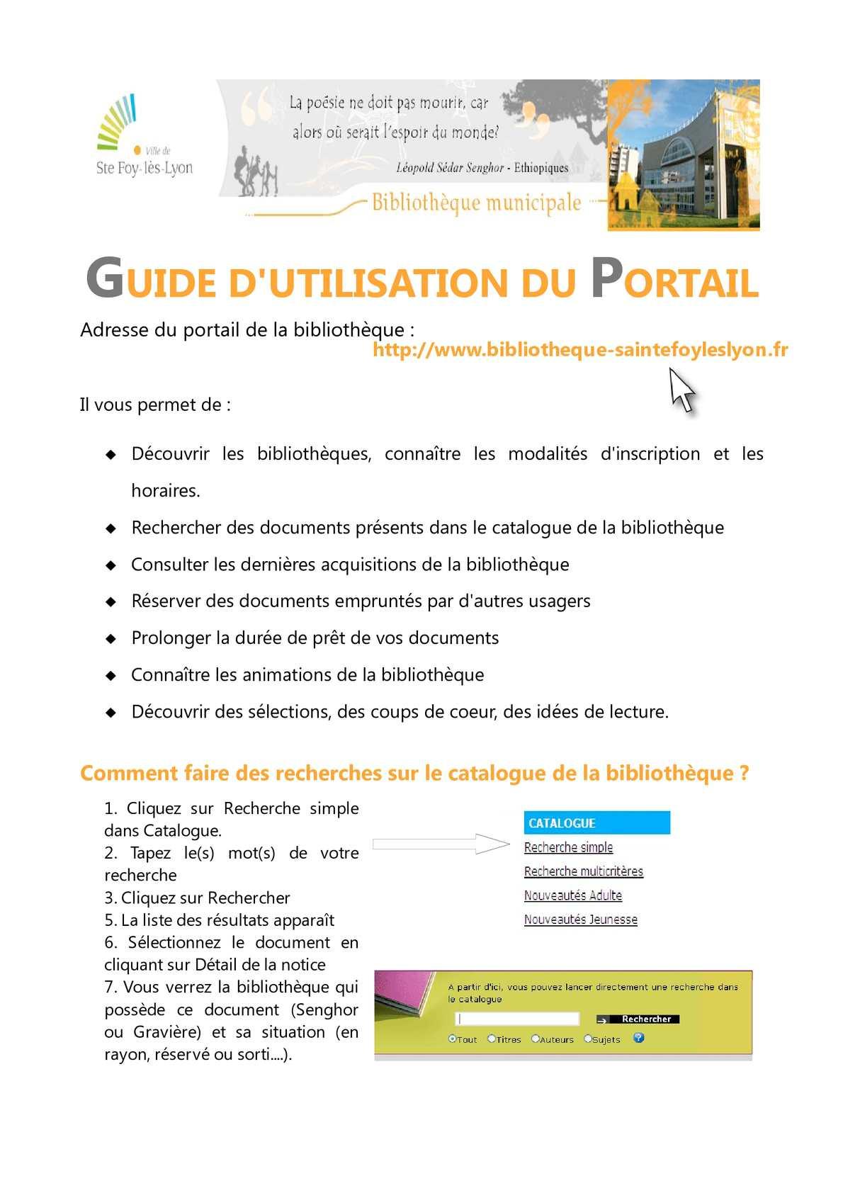 calameo guide d utilisation du portail
