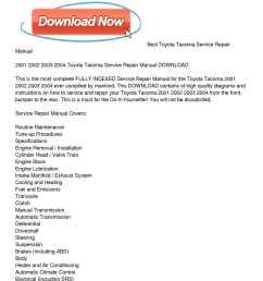 calam o 2001 2004 toyota tacoma service repair manual download 2004 toyota tacoma engine diagram  [ 1224 x 1584 Pixel ]