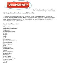 calam o 2001 dodge dakota service repair manual download 012001 dodge durango exhaust system diagram [ 1224 x 1584 Pixel ]