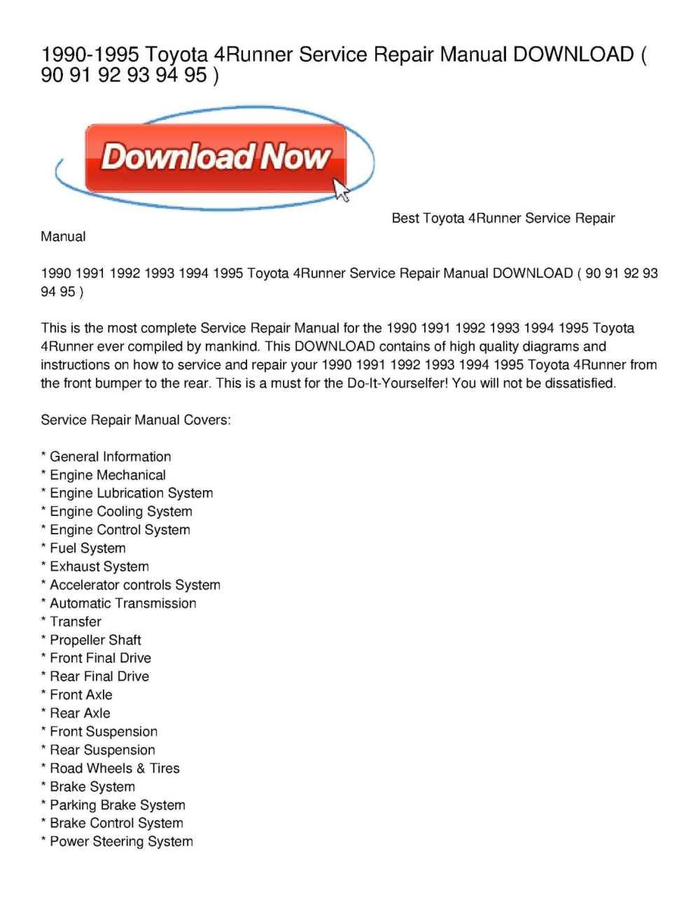 medium resolution of 1995 toyota 4runner window wiring diagram