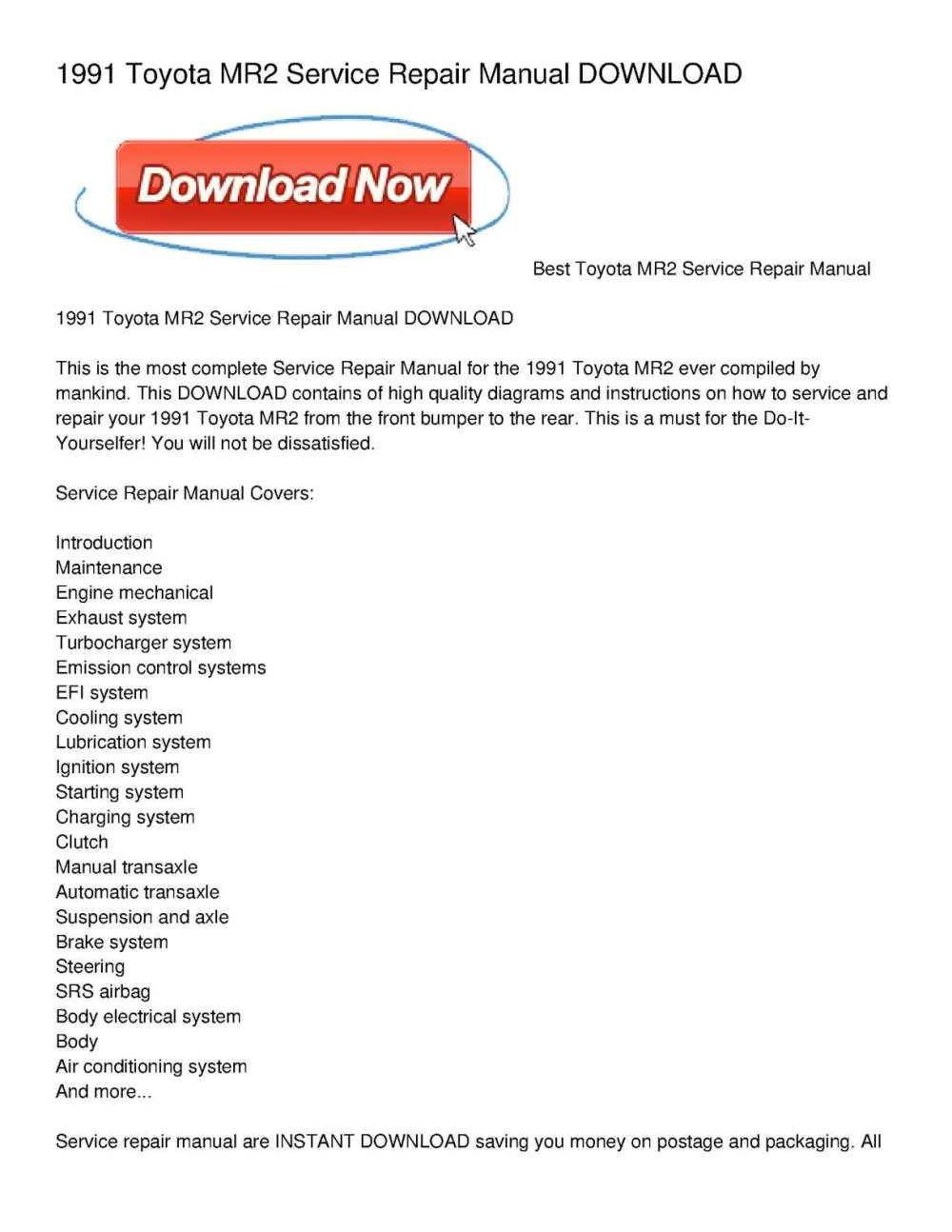 medium resolution of toyotum mr2 wiring diagram free download schematic