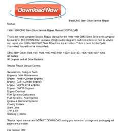 1986 1998 omc stern drive service repair manual download [ 1224 x 1584 Pixel ]