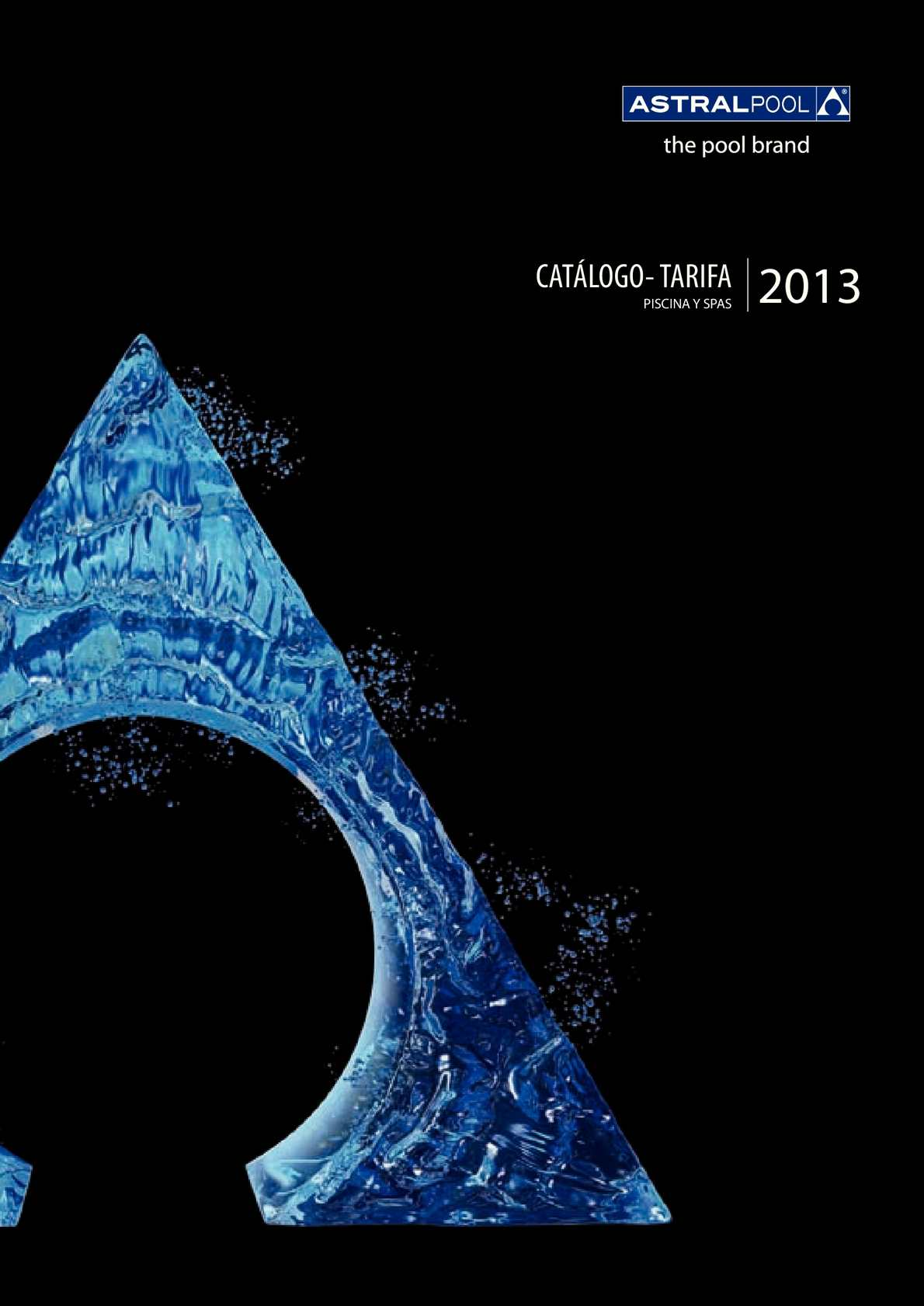 Calamo  Catalogo Tarifa Astralpool 2013