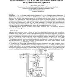 control of dstatcom in 3 phase 3 wire distribution system using modified icos algorithm [ 1190 x 1684 Pixel ]