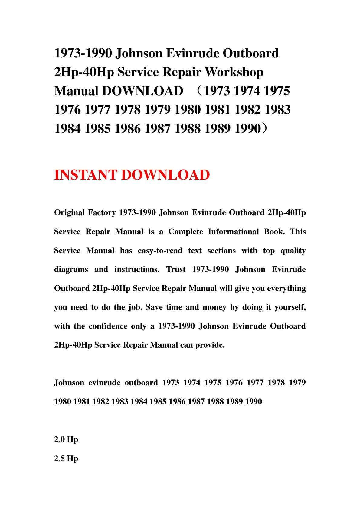 hight resolution of calam o 1973 1990 johnson evinrude outboard 2hp 40hp service repair workshop manual download 1973 1974 1975 1976 1977 1978 1979 1980 1981 1982 1983 1984