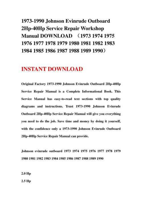 small resolution of calam o 1973 1990 johnson evinrude outboard 2hp 40hp service repair workshop manual download 1973 1974 1975 1976 1977 1978 1979 1980 1981 1982 1983 1984