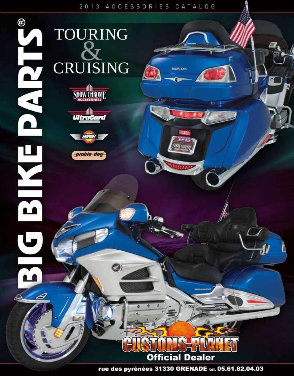 medium resolution of catalogue big bike parts par customs planet