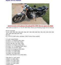 kawasaki kz1100 wiring diagram shaft enthusiast wiring diagrams u2022 1981 kz1100 wiring diagram [ 1190 x 1684 Pixel ]