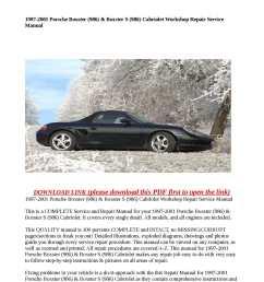 1997 2001 porsche boxster 986 boxster s 986 cabriolet workshop repair service manual [ 1190 x 1684 Pixel ]