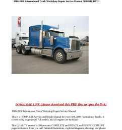 calam o 1986 2008 international truck workshop repair service 2005 international 9900i at international [ 1190 x 1684 Pixel ]