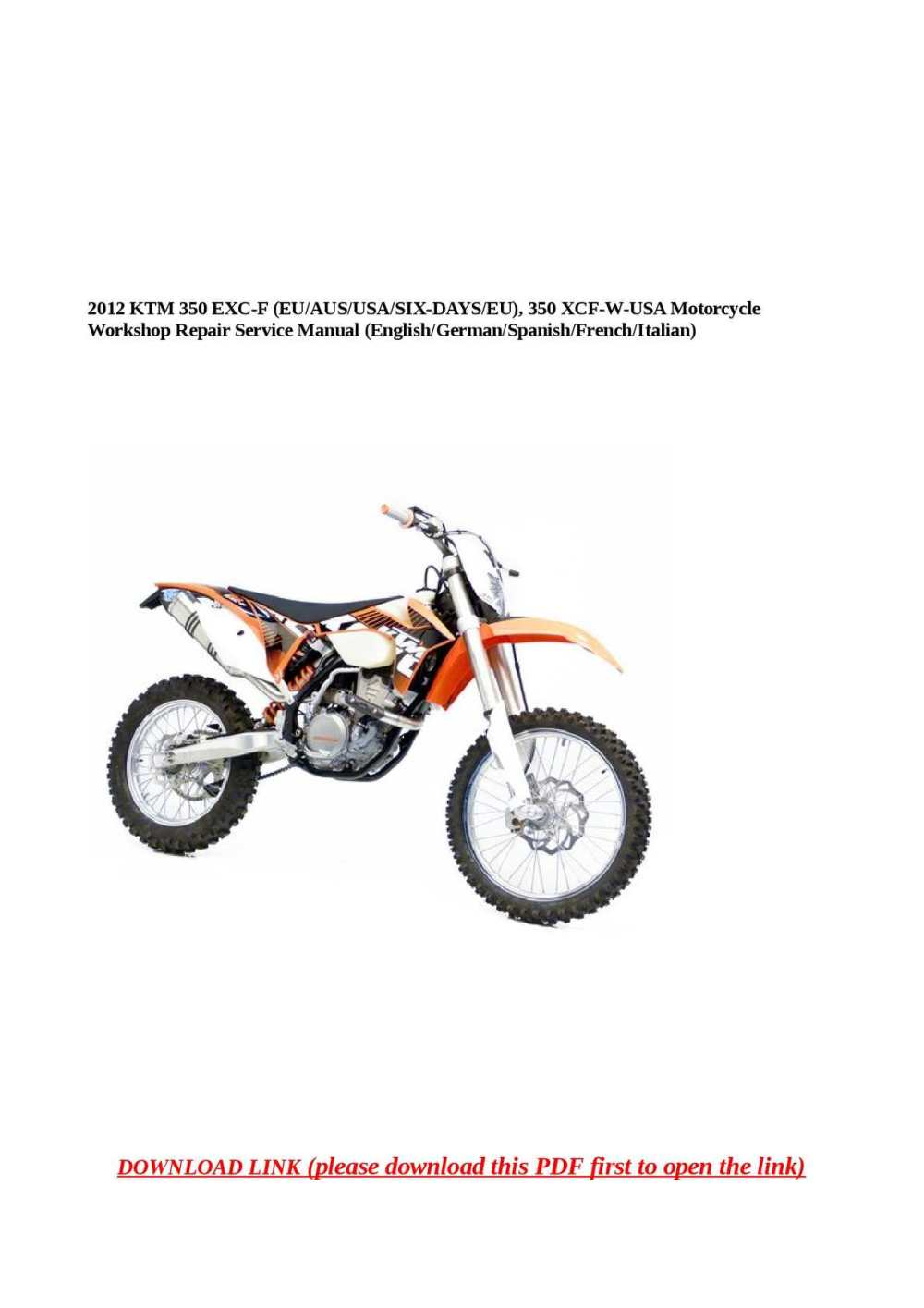 medium resolution of ktm 350 exc f wiring diagram