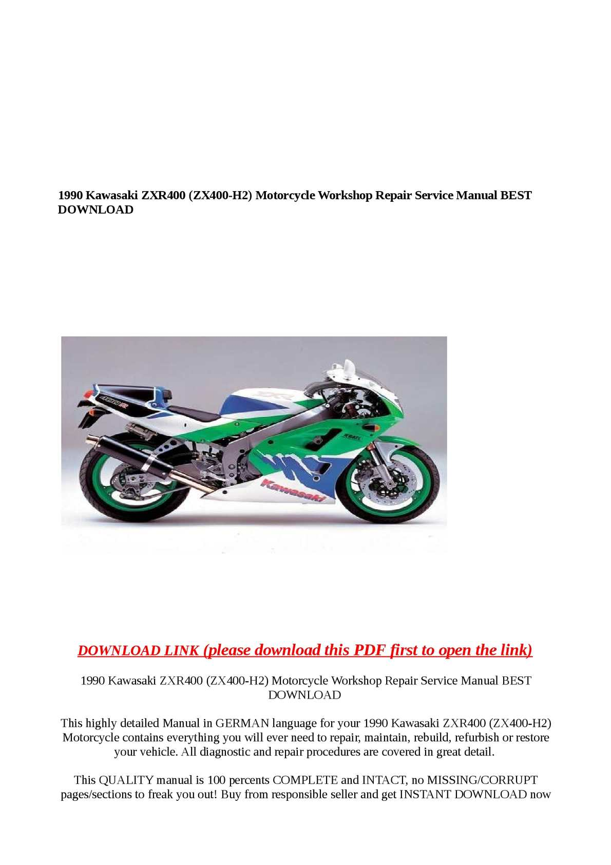 hight resolution of  array calam o 1990 kawasaki zxr400 zx400 h2 motorcycle workshop repair rh