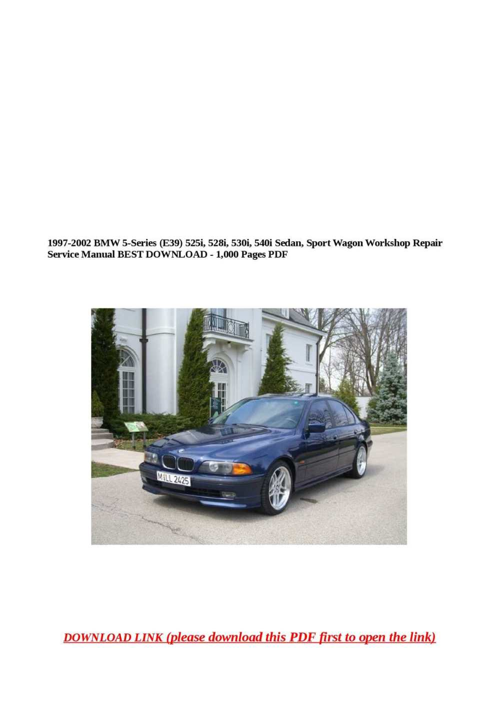 medium resolution of 1997 bmw 525i
