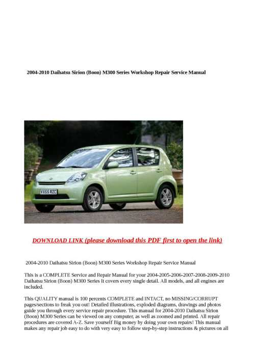 small resolution of 2004 daihatsu sirion wiring diagram wiring diagram wiring diagram daihatsu storia