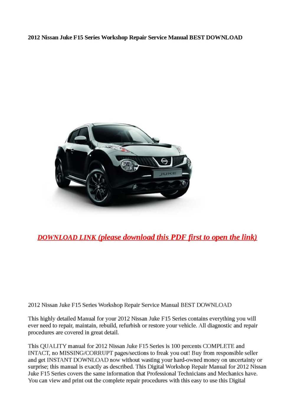 medium resolution of nissan juke wiring diagram pdf