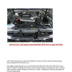 Nissan Patrol Alternator Wiring Diagram Honeywell Aquastat L8148e Y61 Library