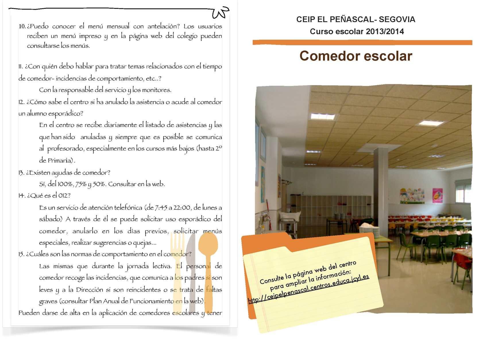 Best Comedores Escolares Jcyl Contemporary  Casas Ideas