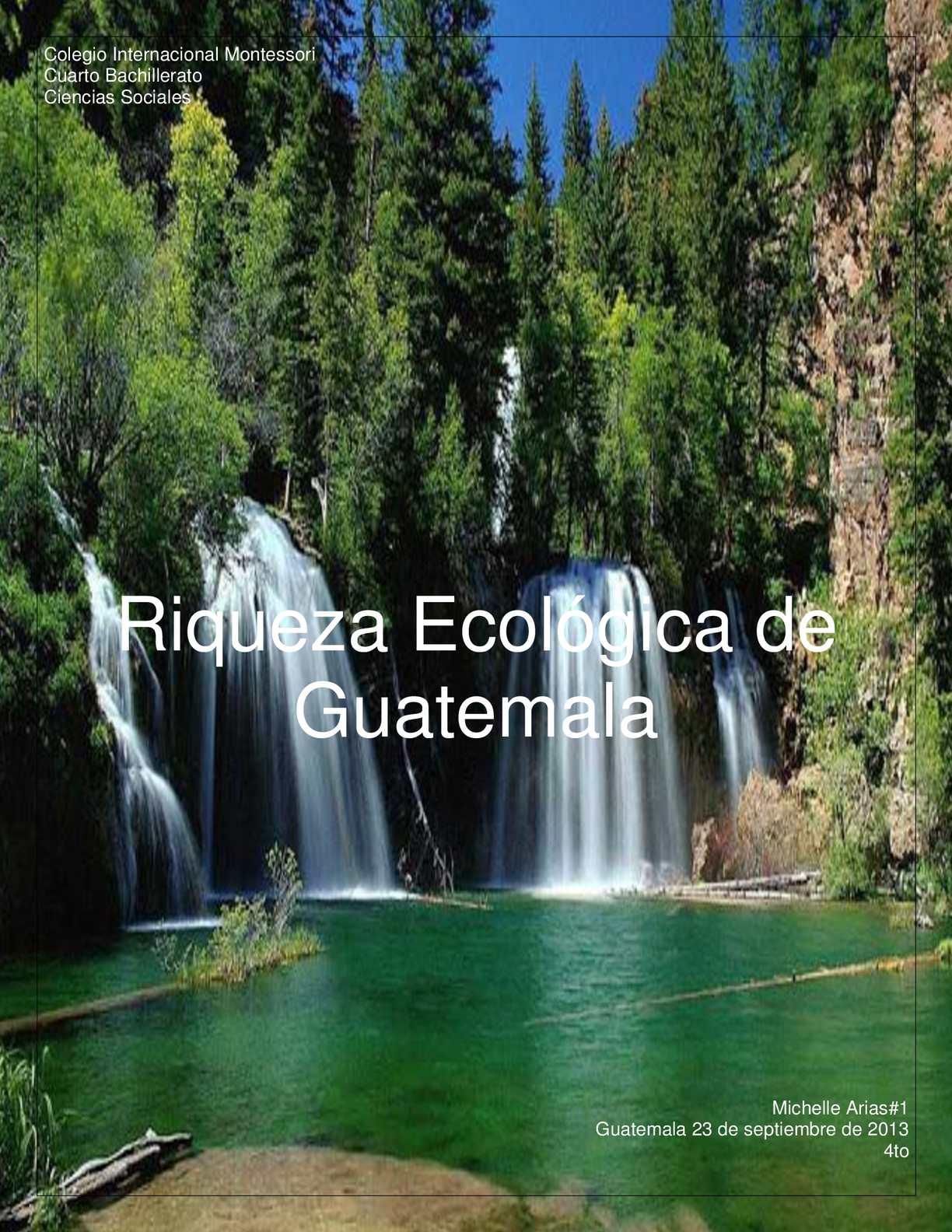 Calamo  biomas de Guatemala