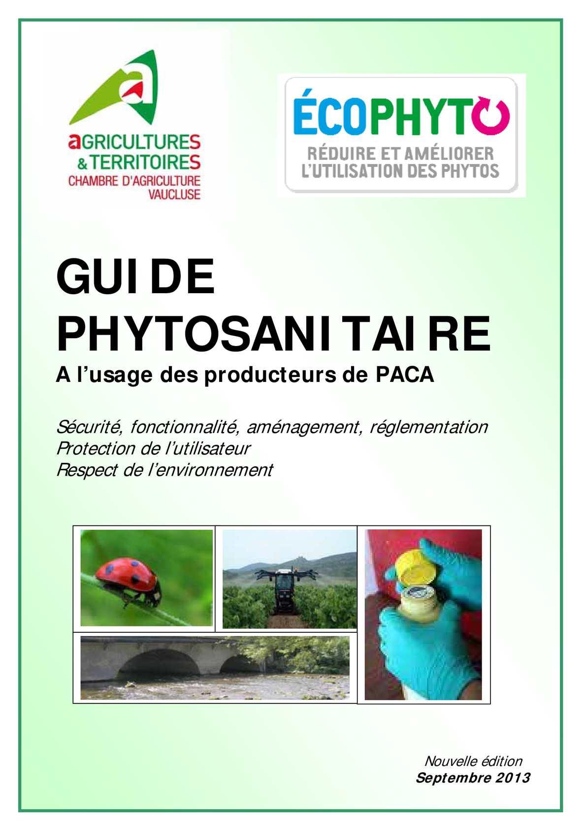 Calamo Guide Phytosanitaire
