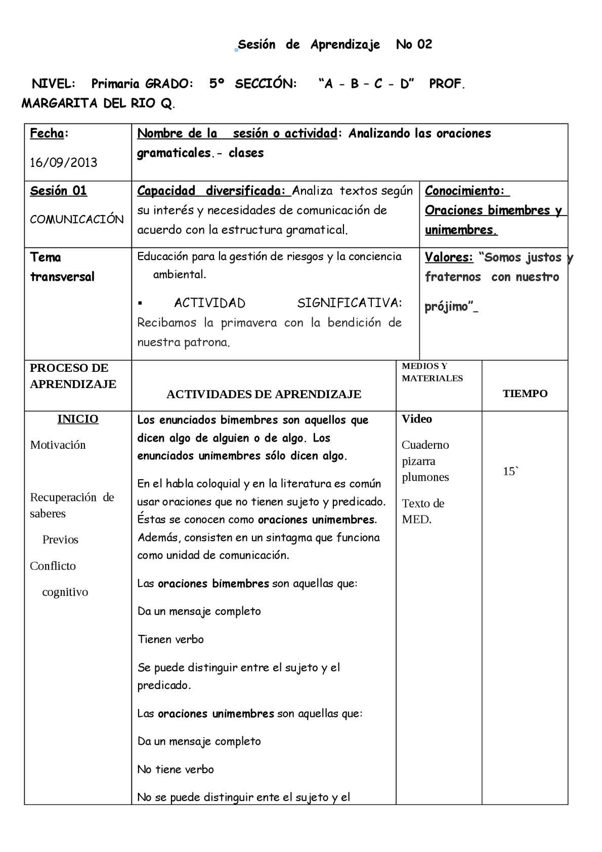 Transversal Worksheet Doc