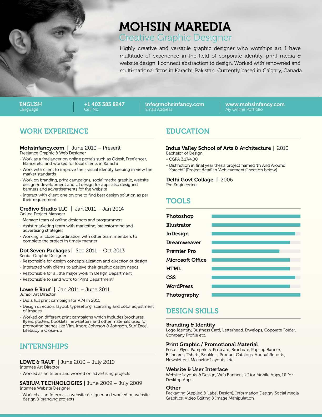 Graphic Designer Resume Templates Calaméo Freelance Graphic And Web Designer Resume Mohsin