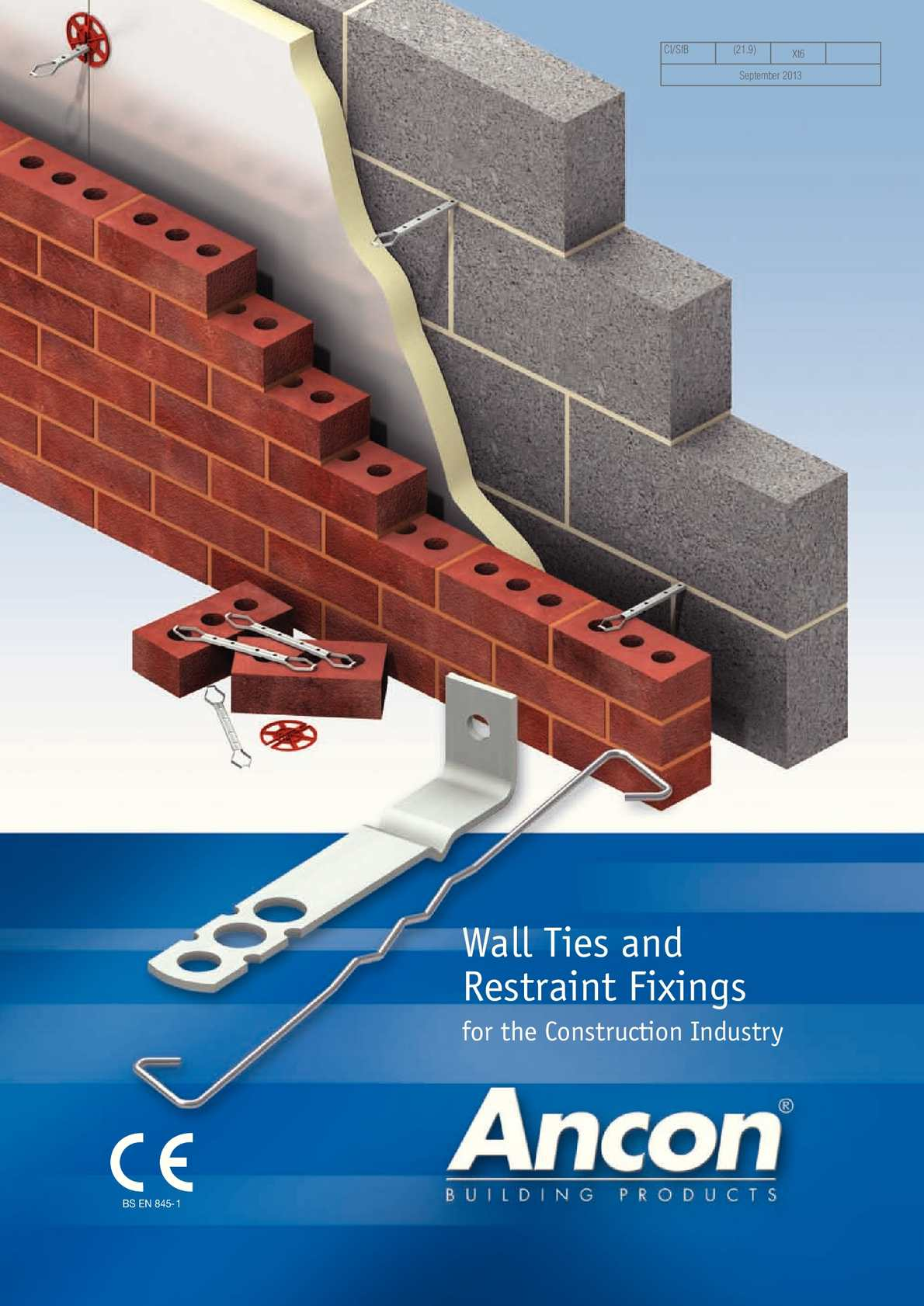 Calamo  Ancon Wall Ties and Restraint Fixings for Brick