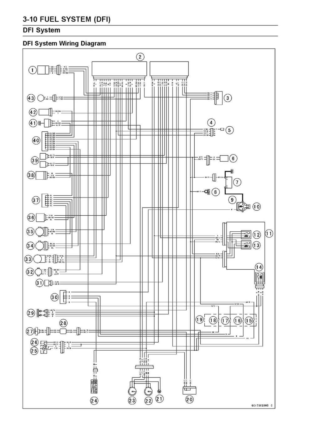 medium resolution of calam o kawasaki ninja 250r fuel system dfi wiring diagram pdf 2008 ninja 250r wiring