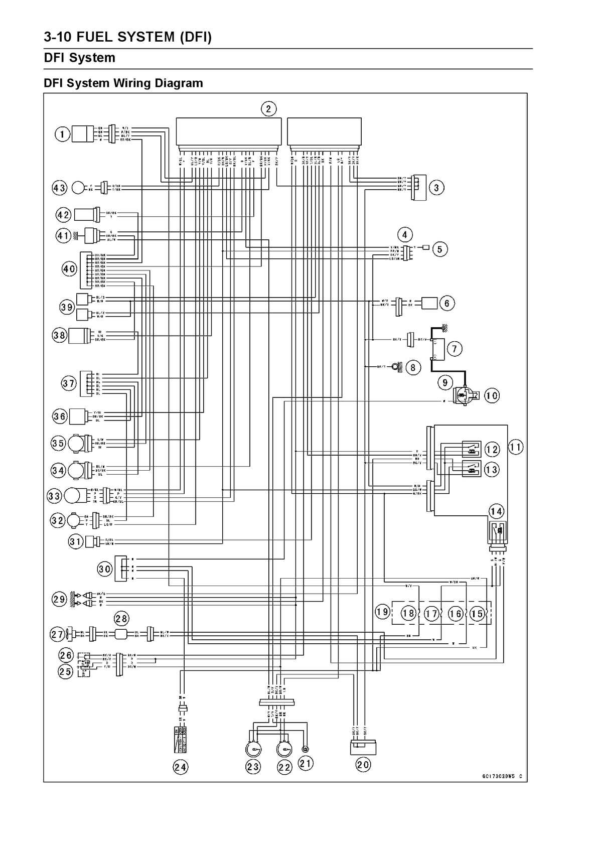 hight resolution of calam o kawasaki ninja 250r fuel system dfi wiring diagram pdf 2008 ninja 250r wiring