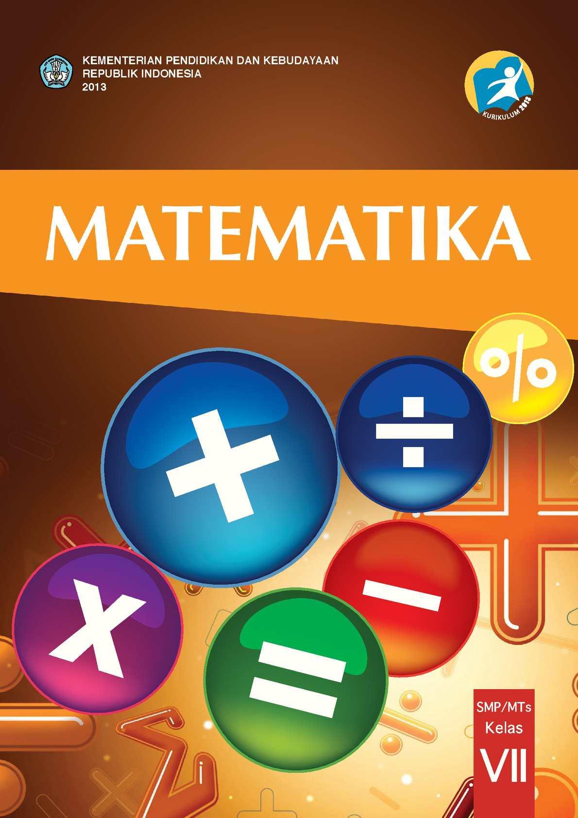 Calaméo - Matematika Kelas 7