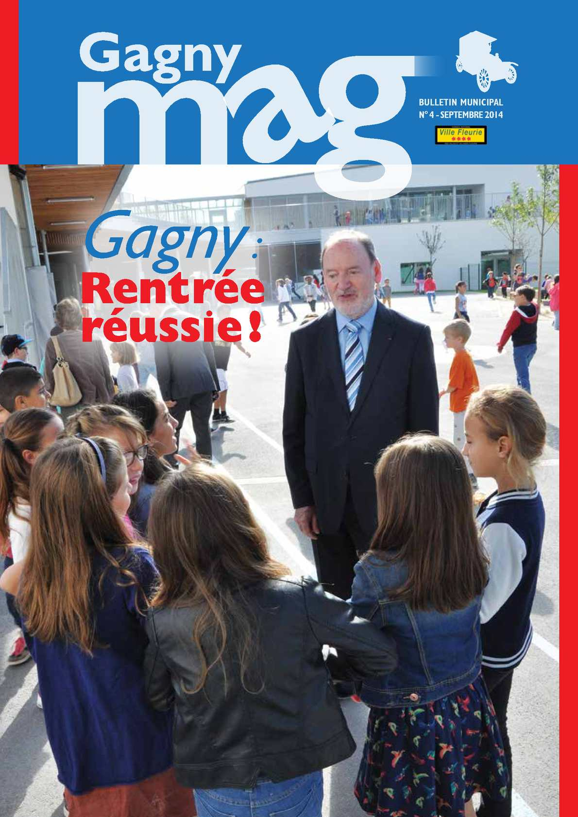 Calamo  Gagny magazine n4 sept 2014