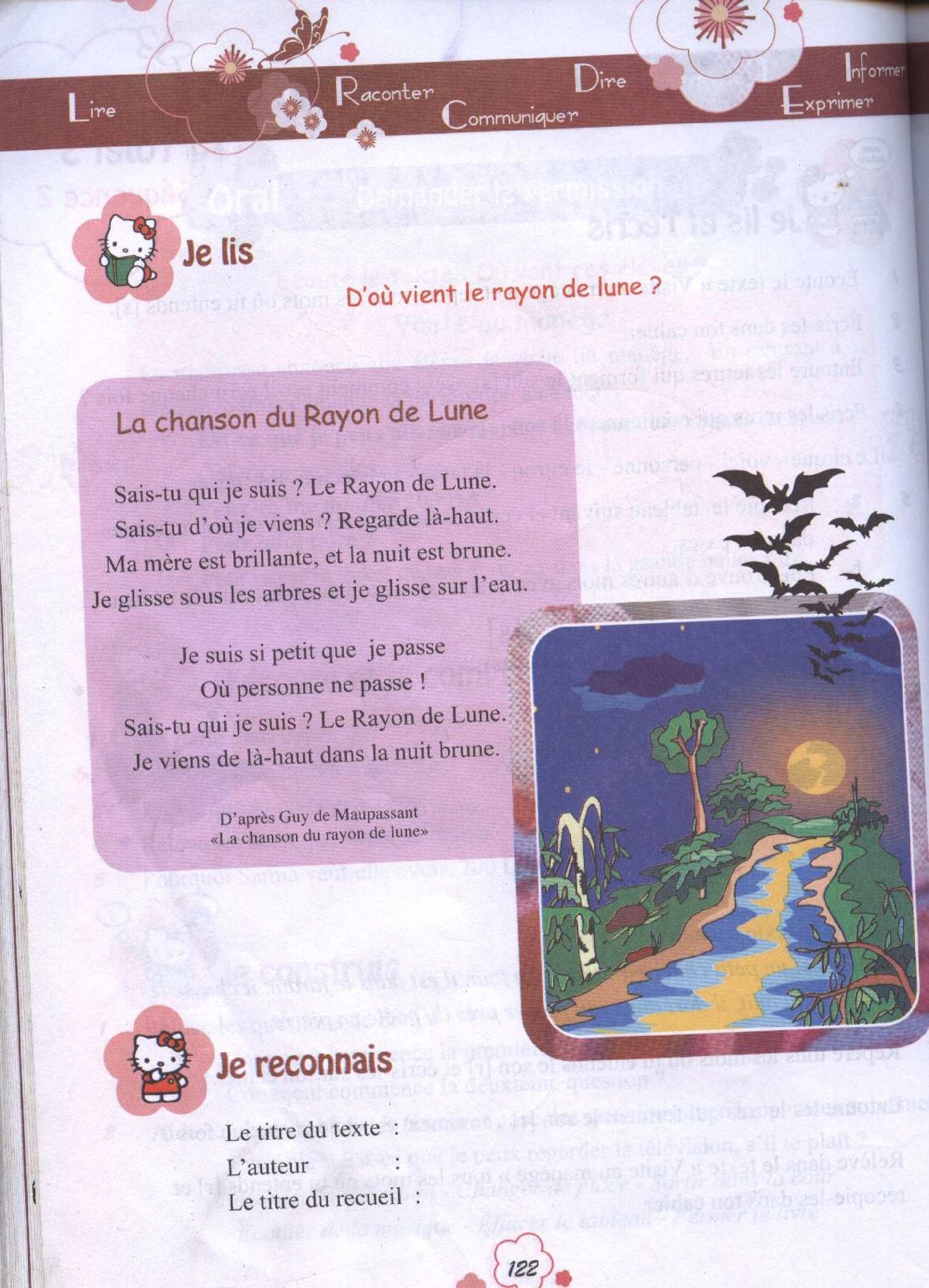 La Chanson Du Rayon De Lune : chanson, rayon, Calaméo, Lecture
