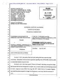 Calamo - Sacramento Federal Court Corruption Catalog ...
