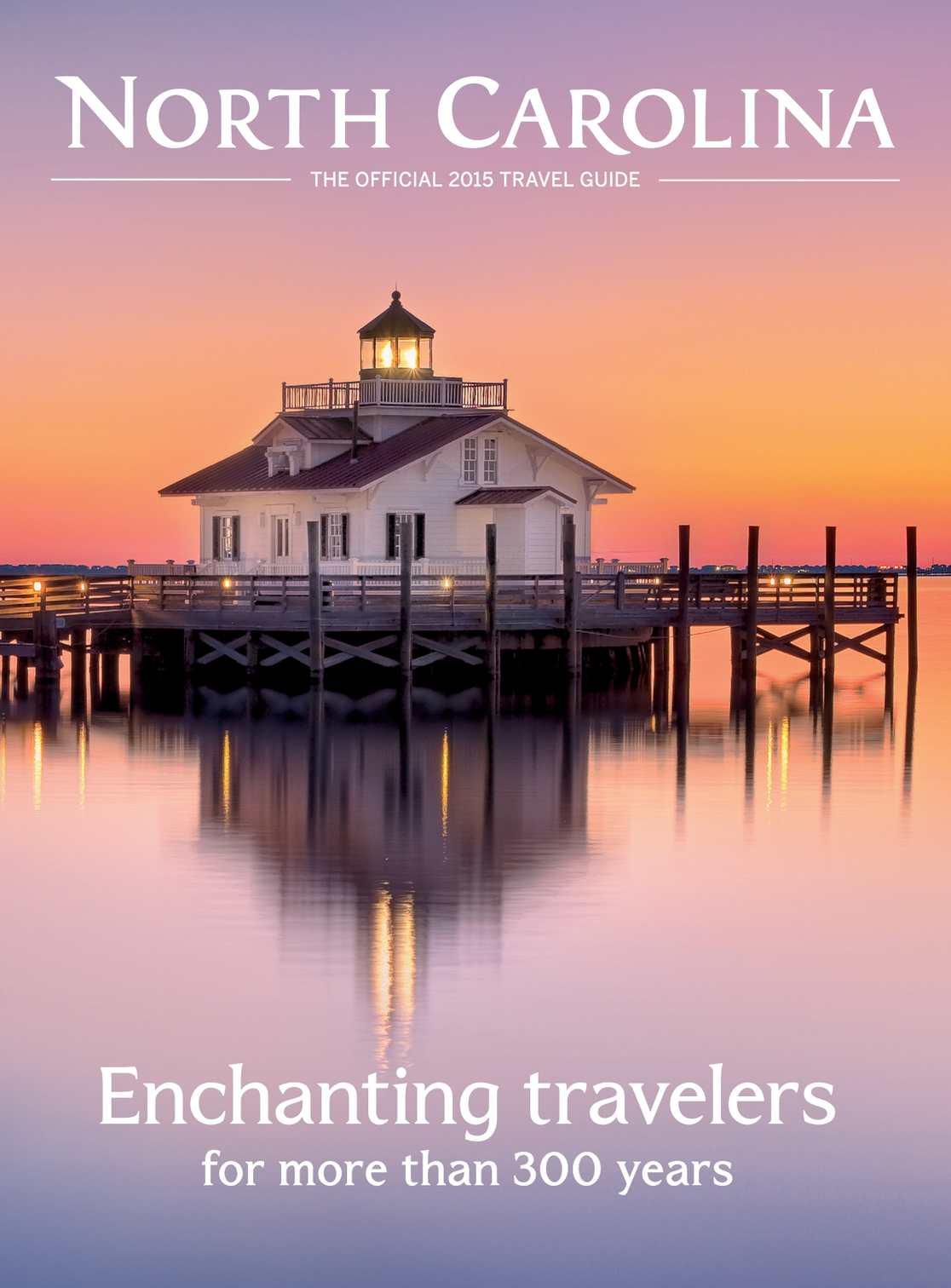 Calamo 2015 Official North Carolina Travel Guide